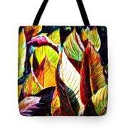 Crotons Sunlit 2 Tote Bag