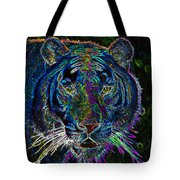 Crouching Tiger Tote Bag