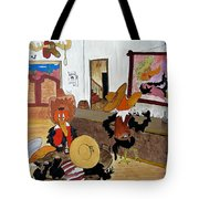 Crow  - Bar Tote Bag