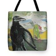 Crow Ruckus Tote Bag