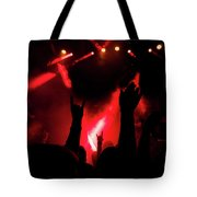 Crowd At A Rock Concert Tote Bag