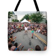 Crowd At Bele Chere Festival Tote Bag