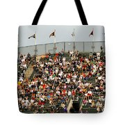 Crowd At Coors Field Tote Bag
