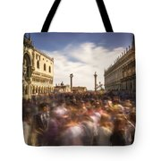 Crowded On St. Mark's Square Tote Bag