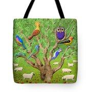 Crowded Tree Tote Bag