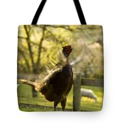 Crowing Tote Bag