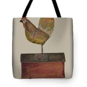 Crowing Cock Tote Bag