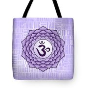 Crown Chakra - Awareness Tote Bag
