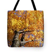 Crown Fire Tote Bag