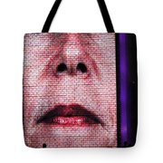 Crown Fountain Silhouettes Tote Bag