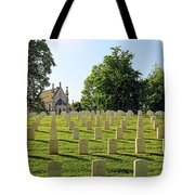 Crown Hill National Cemetery, Indianapolis, Indiana Tote Bag