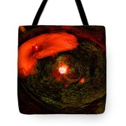 Crown In The Garden Tote Bag