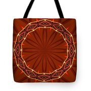 Crown Of Thorns Tote Bag by Kristin Elmquist