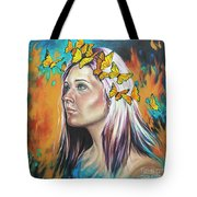 Crown Of Transformation Tote Bag