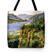 Crown Point Oregon Tote Bag