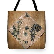 Crowned - Tile Tote Bag