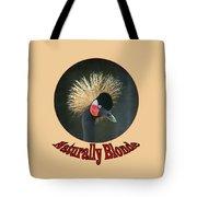 Crowned Crane - Naturally Blonde - Transparent Tote Bag