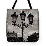 Crowned Luminaires In Paris Tote Bag