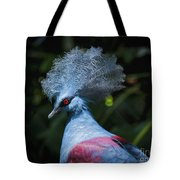 Crowned Pigeon Tote Bag