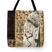 Crowned Statue - Toledo Spain Tote Bag
