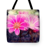 Crowned With Kindness Tote Bag