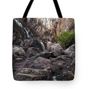 Crows Nest Falls During The Day. Tote Bag