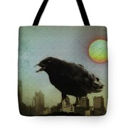 Crowzilla Tote Bag