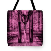 Crucified Tote Bag