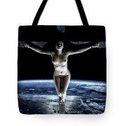 Crucified Tellus II Tote Bag