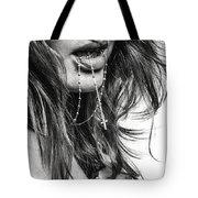 Crucifix And Teeth #2 Tote Bag