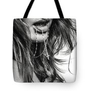 Crucifix And Teeth #2 Tote Bag