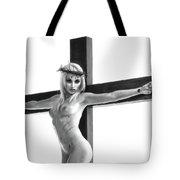 Crucifix Portrait I Tote Bag