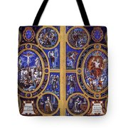 Crucifixion And Resurrection  Tote Bag