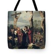 Crucifixion Tote Bag by Eduard Karl Franz von Gebhardt