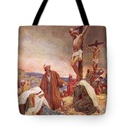 Crucifixion Tote Bag by William Brassey Hole