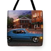 Cruise Night In Liberty Tote Bag