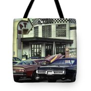 Cruise Night_hdr Tote Bag