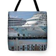 Cruise Ship Trio Tote Bag