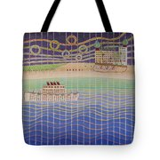 Cruise Vacation Destination Tote Bag