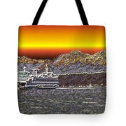 Cruisin The Sound Tote Bag