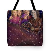 Cruisin' With The Big Kids Tote Bag
