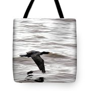 Cruising Cormorant Tote Bag