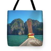 Cruising Maya Bay Tote Bag