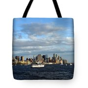 Cruising On The Hudson Tote Bag