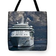 Cruising The Adriatic Sea Tote Bag