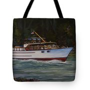 Cruising The British Columbia Gulf Islands, Canada                                       Tote Bag