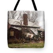 Crumbling Tote Bag