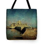 Crusaders Sea Castle Tote Bag