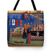 Crusades 14th Century Tote Bag