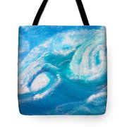 Crushing Wave Tote Bag